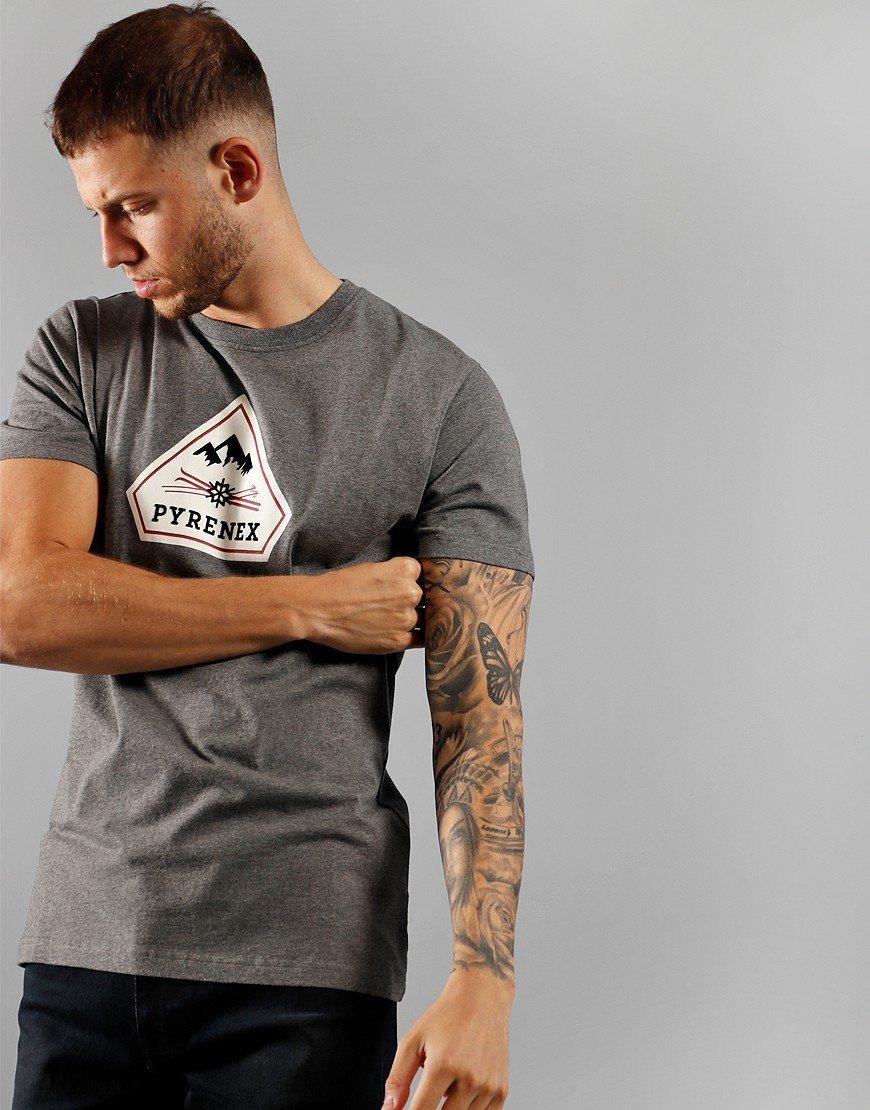 Pyrenex Karel T-Shirt  Ardesia Marl Grey