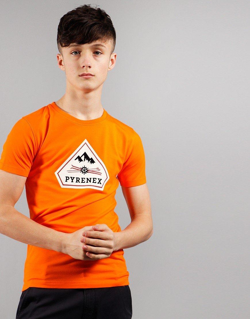 Pyrenex Kids Karel T-shirt Orange