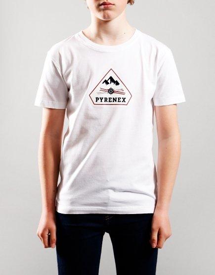 Pyrenex Kids Karel T-Shirt White