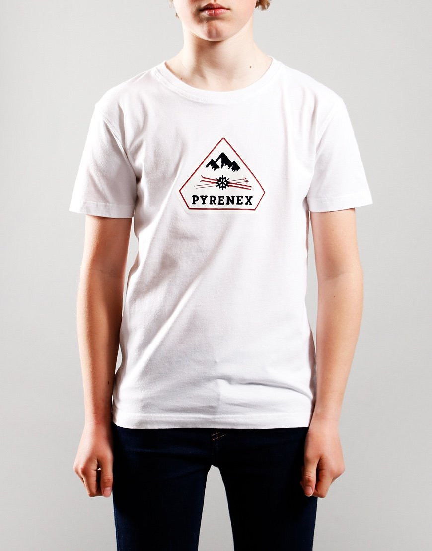 Pyrenex Kids Karel T-Shirt White
