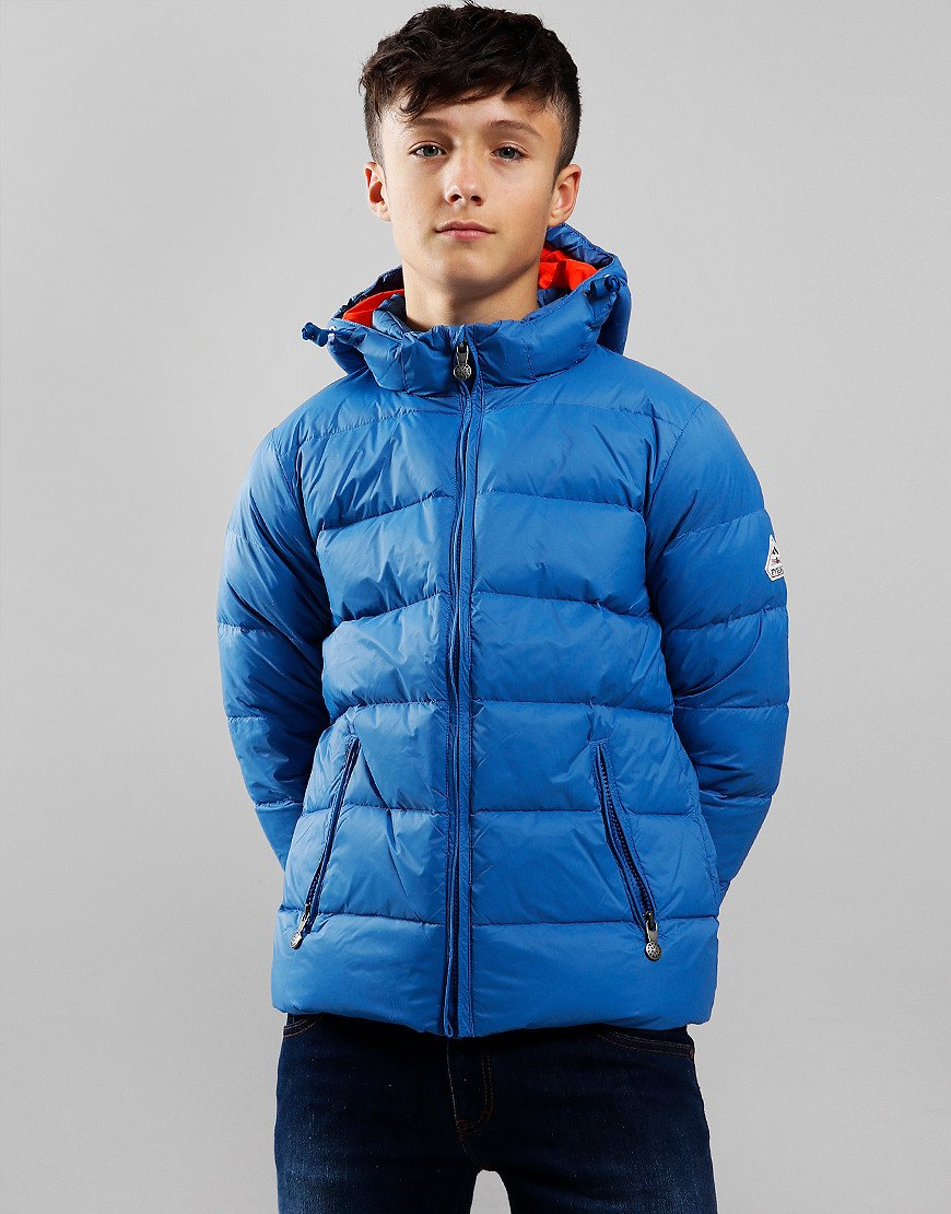 Pyrenex Kids Spoutnic Hooded Jacket Gentiane