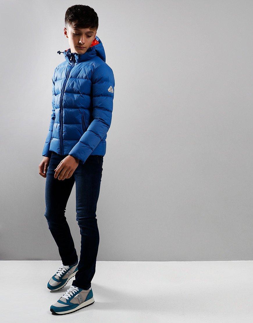 Pyrenex Kids Spoutnic Hooded Jacket Gentiane