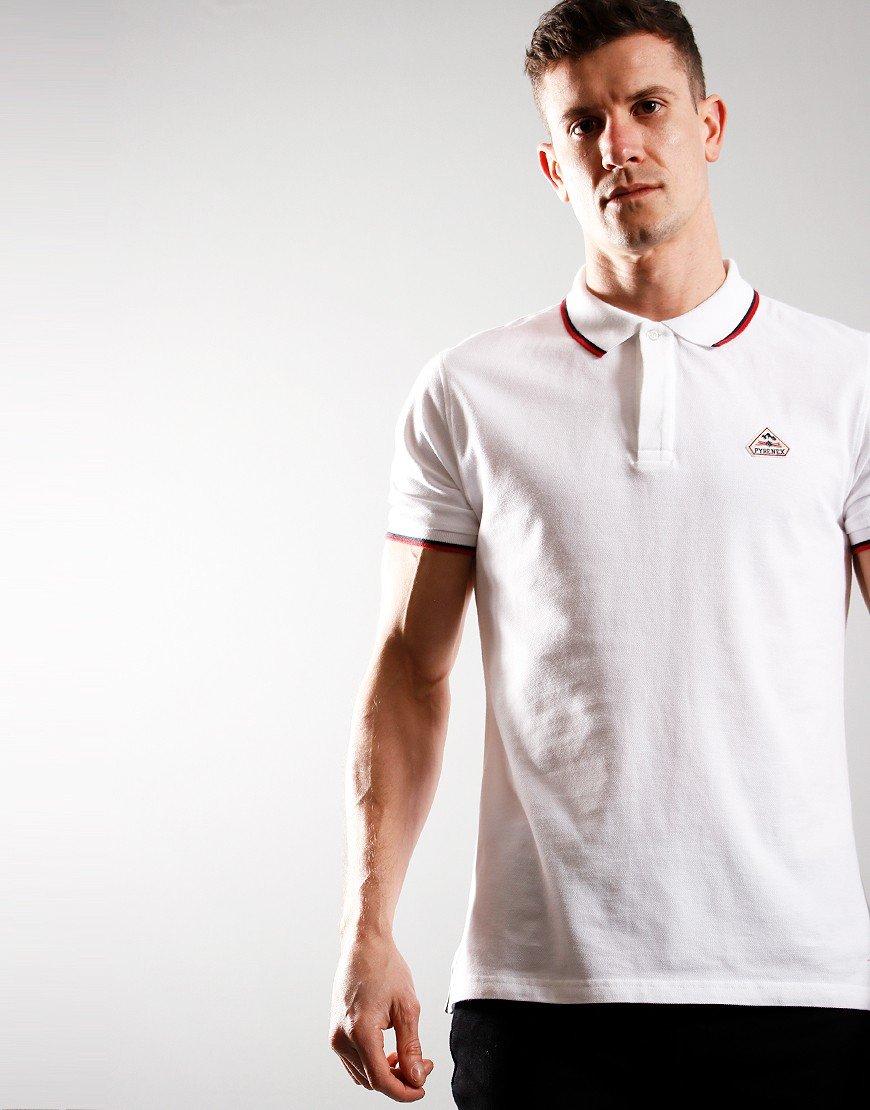 Pyrenex Leyre Polo Shirt White