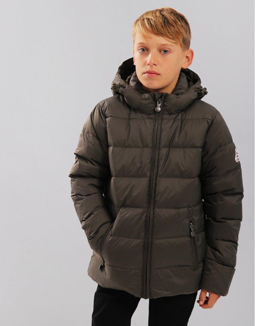Pyrenex Kids Spoutnic Hooded Coat Sauge