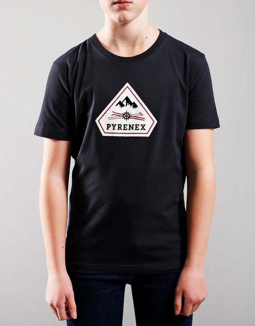 Pyrenex Kids Karel T-Shirt Deep Ink