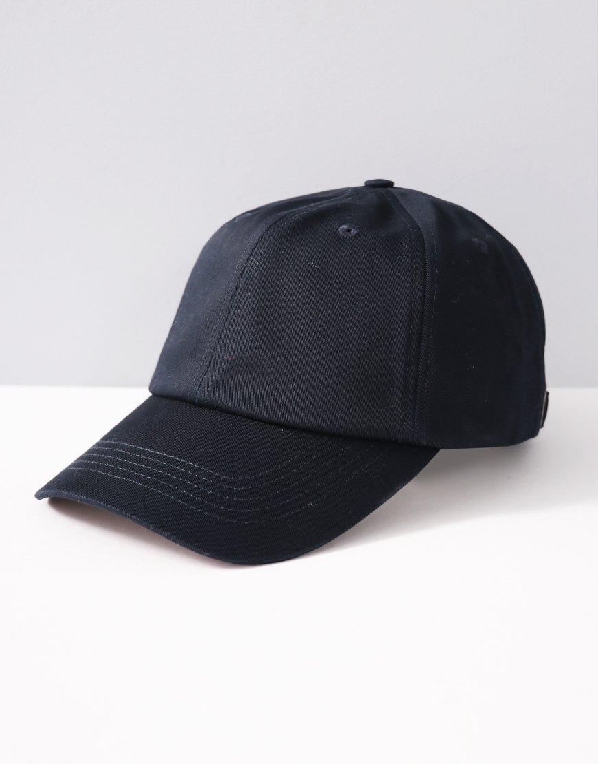 Aquascutum Rebel Club Check Cap Navy