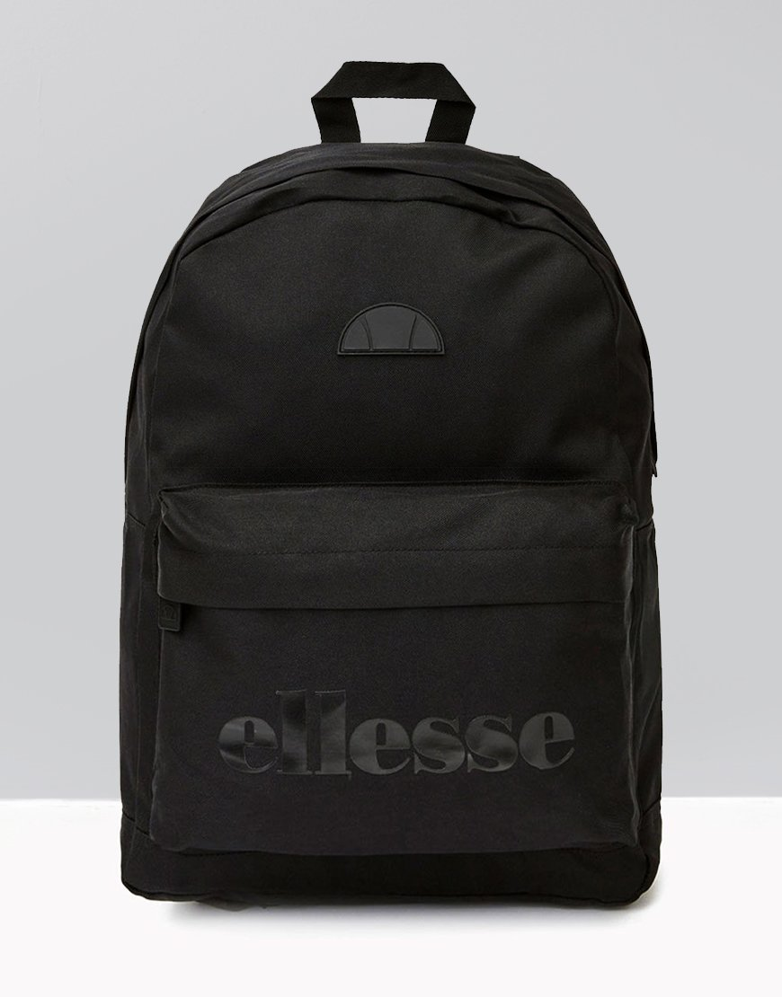Ellesse Regent Backpack Black - Terraces Menswear d20b5d04fb1b5