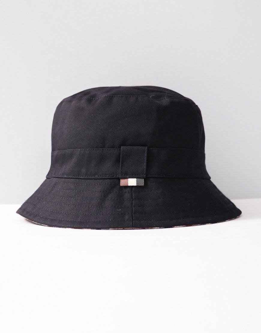 c9c4e058773 Aquascutum Reversible Bucket Hat Navy
