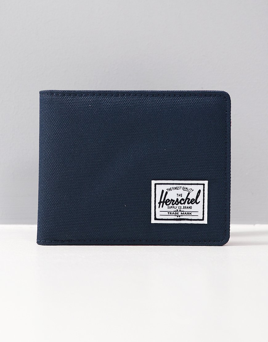 Herschel Roy RFID Wallet Navy/Red