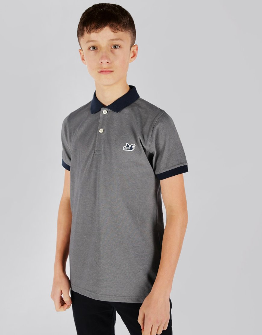 Peaceful Hooligan Junior Samuel Polo Shirt Navy