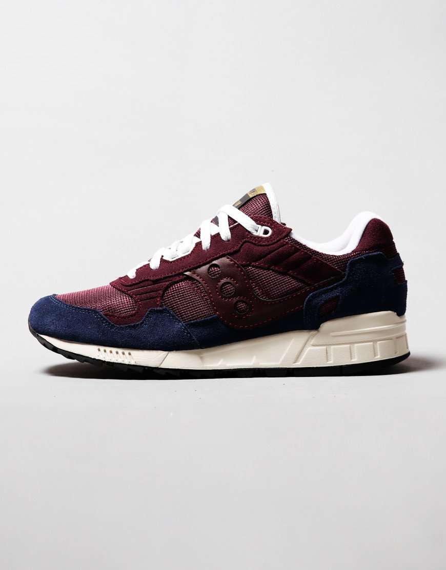 Saucony Shadow 5000 Sneakers Maroon/Navy