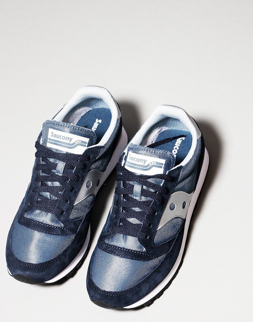 Saucony Jazz 81 Trainers Navy/Silver