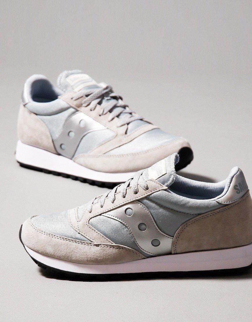Saucony Jazz 81 Trainers Grey/Silver