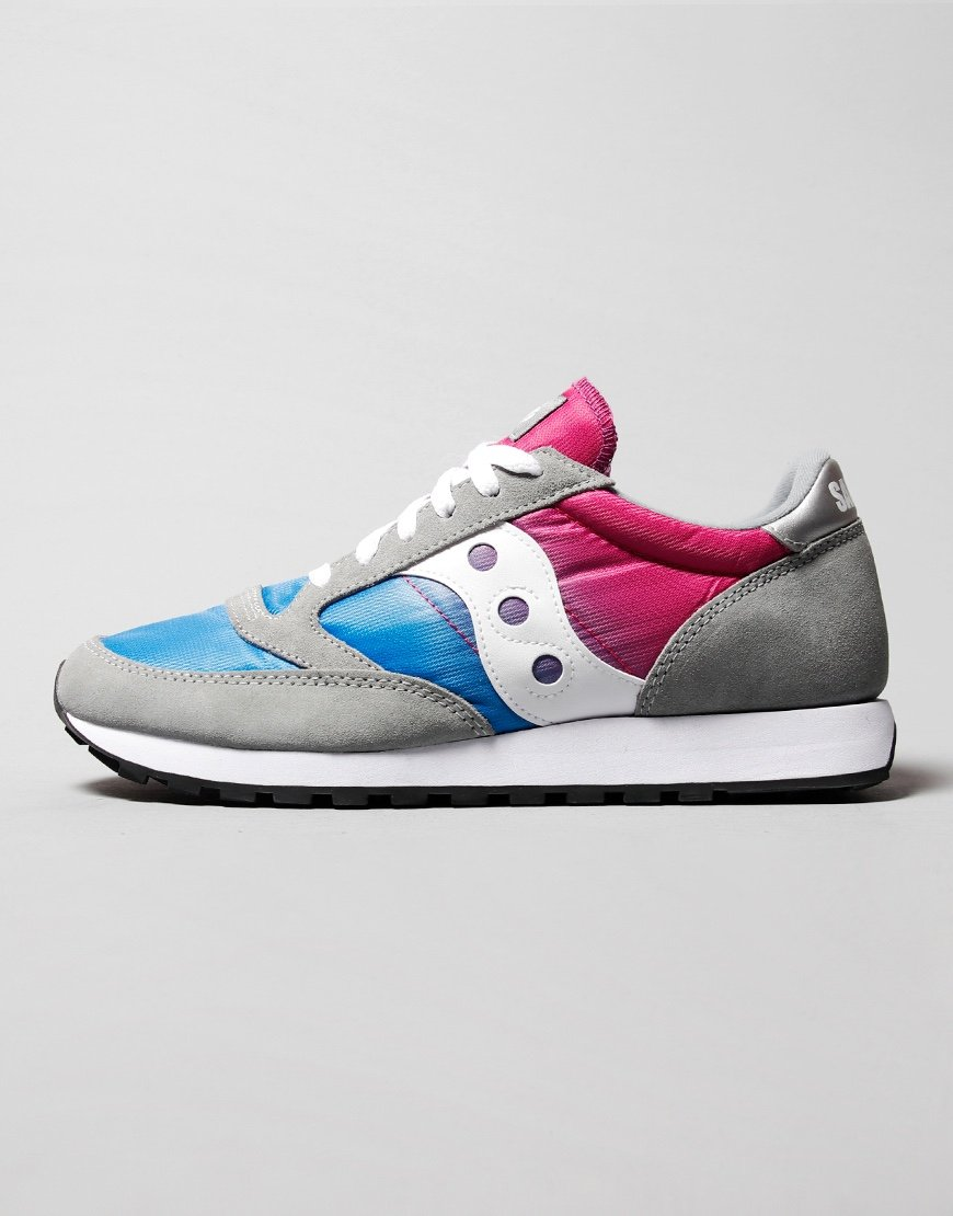 Saucony Jazz Fade Sneakers Grey/Blue/Pink