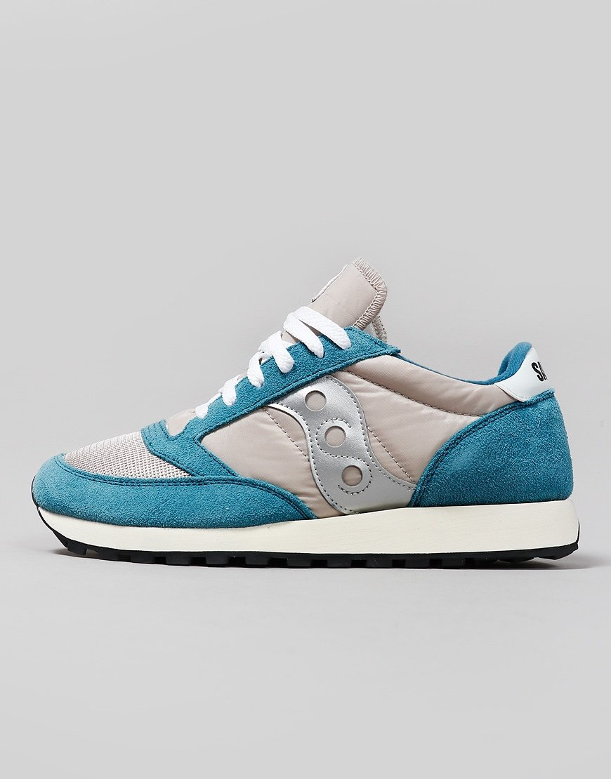 Saucony Jazz OG Sneakers Blue/Tan/Silver
