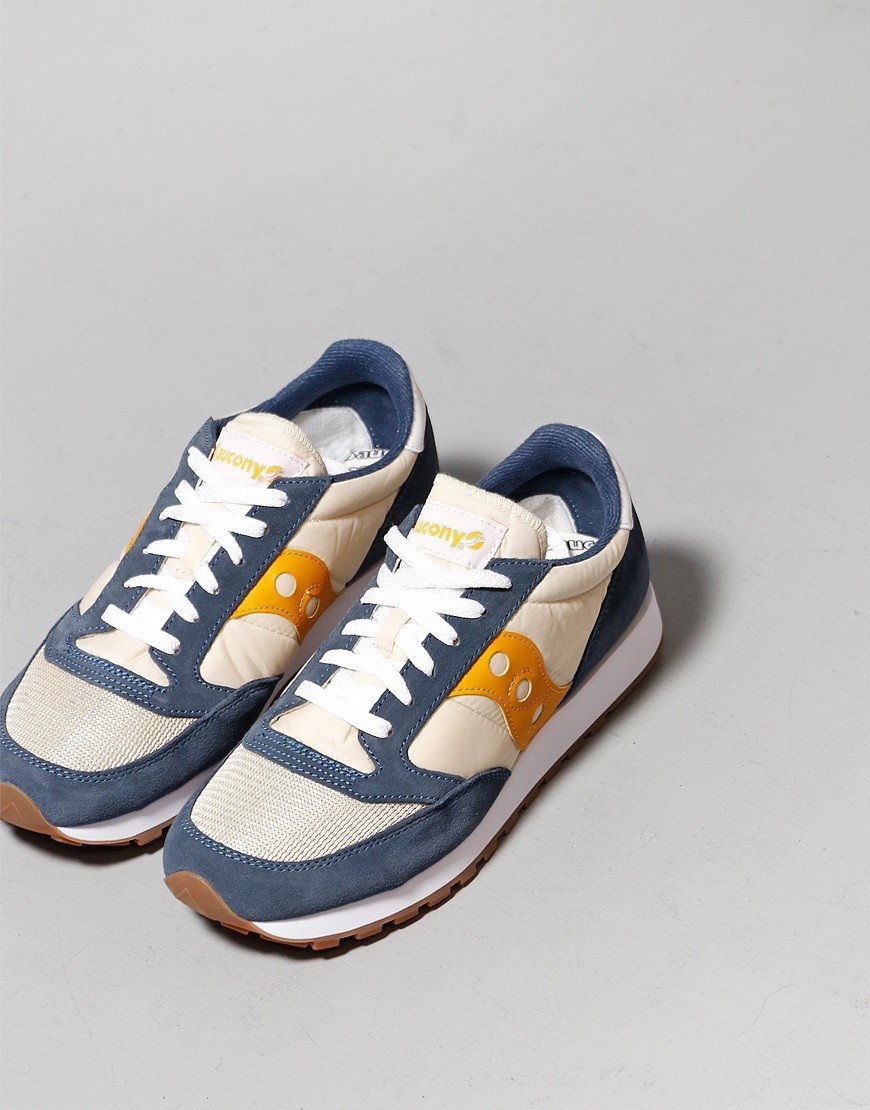 Saucony Jazz OG Sneakers Denim/Tap/Curry