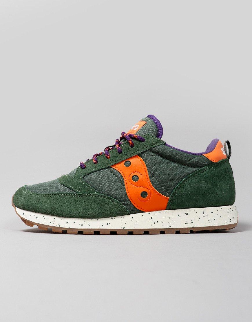 Saucony Jazz OG Sneakers Green/Orange