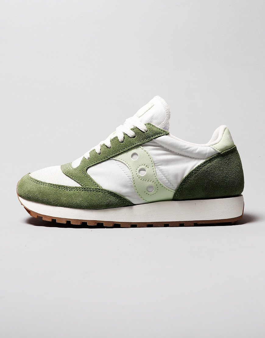 Saucony Jazz OG Sneakers Green/White/Sea