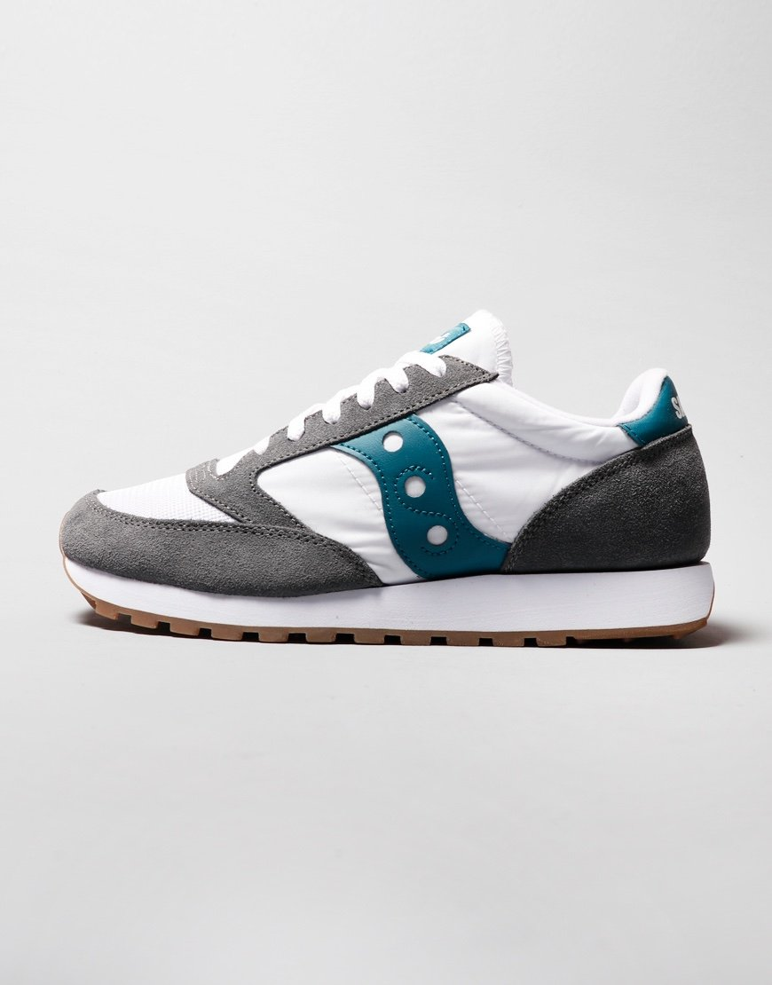 Saucony Jazz OG Sneakers Grey/White/Teal