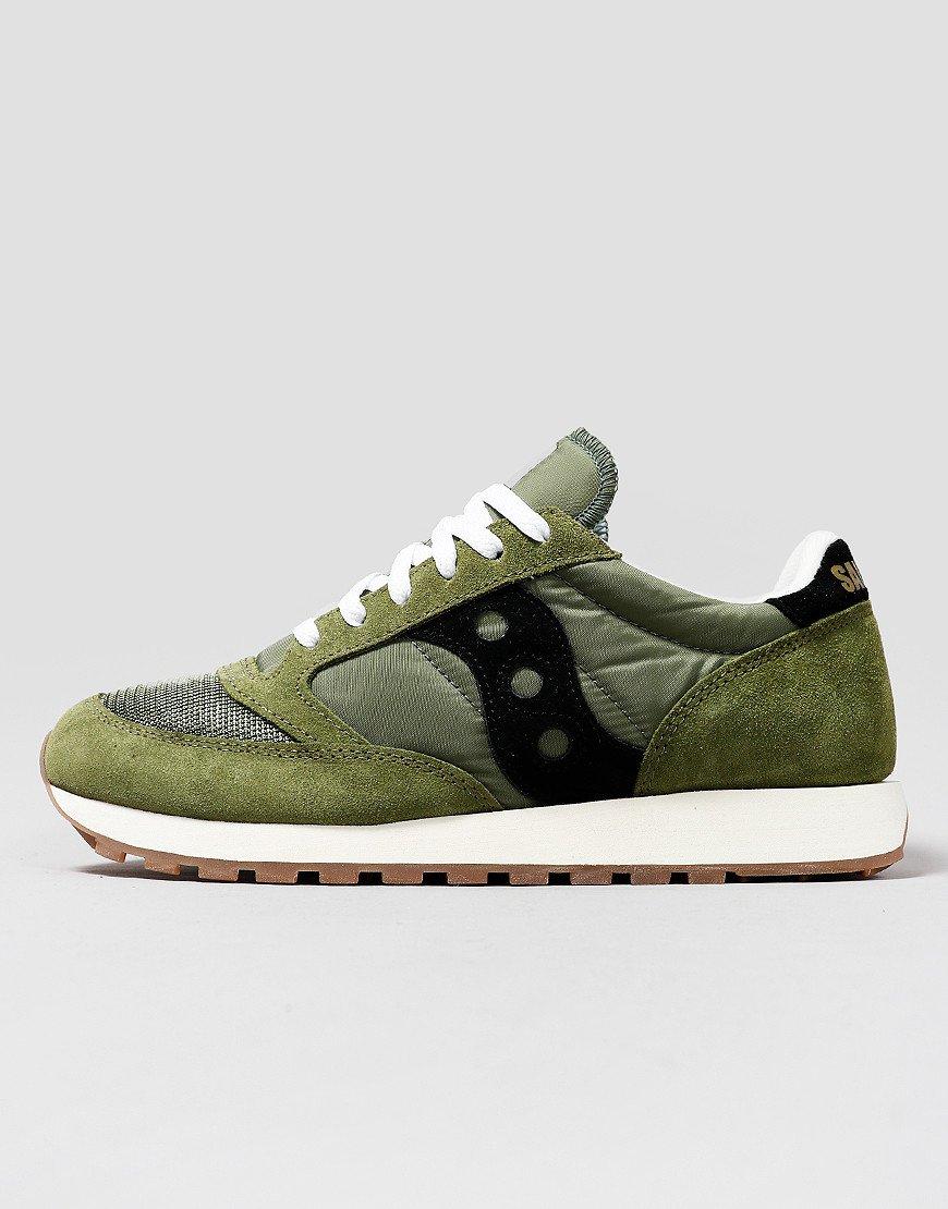 Saucony Jazz OG Sneakers Olive/Black