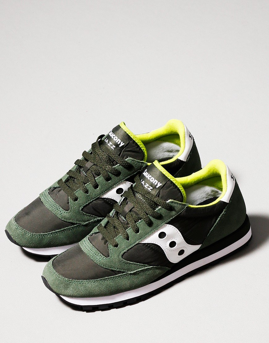 Saucony Jazz OG Trainers Dark Green