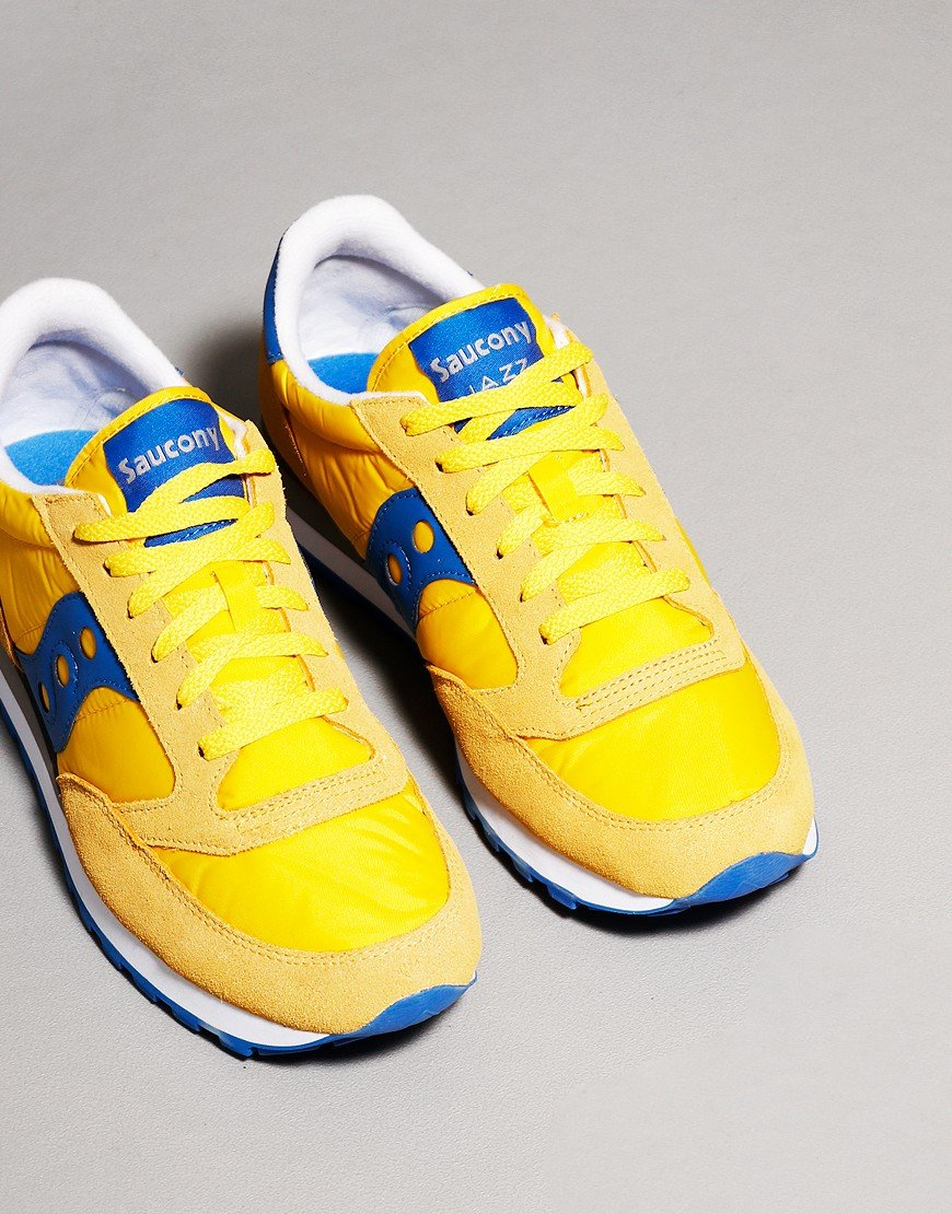 Saucony Jazz OG Trainers Yellow/Blue