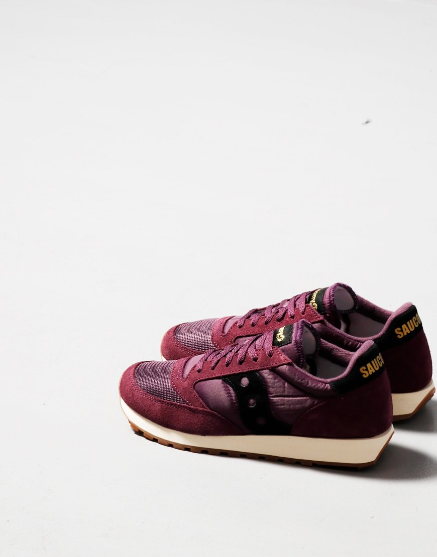 Saucony Jazz OG Sneakers Blackberry/Black