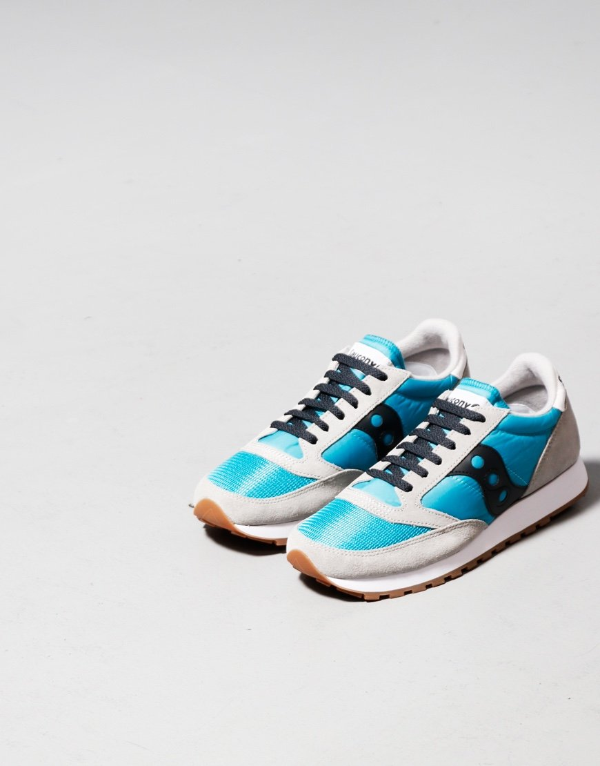 Saucony Jazz OG Sneaker Grey/Capri/Black