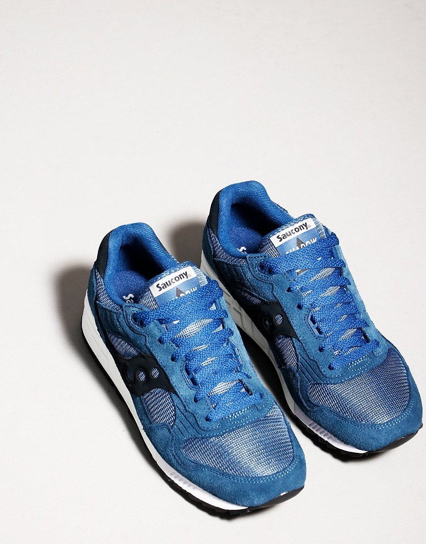 Saucony Shadow Trainers 5000 Blue/White