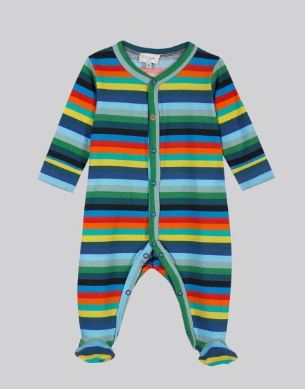 Paul Smith Junior Seif Babygrow Multicolour