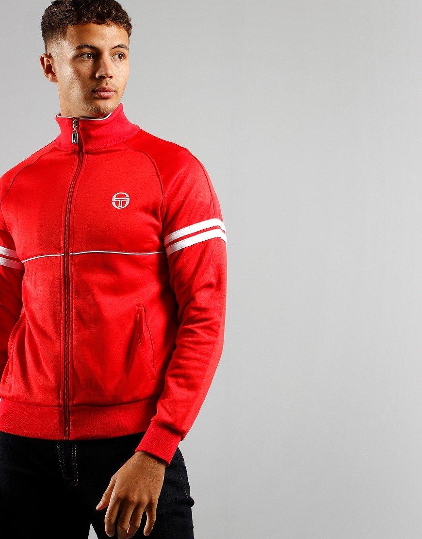 Sergio Tacchini Orion Track Top Red / White