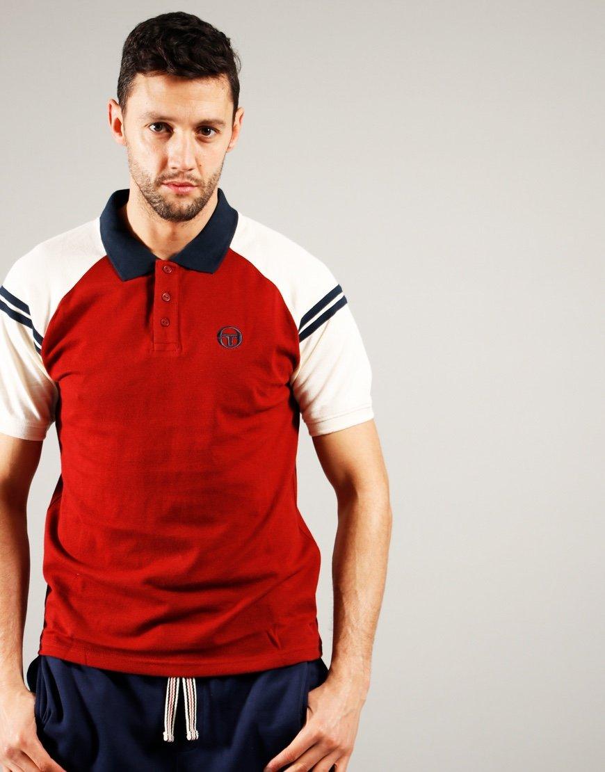 Sergio Tacchini Sonny Polo Shirt Merlot