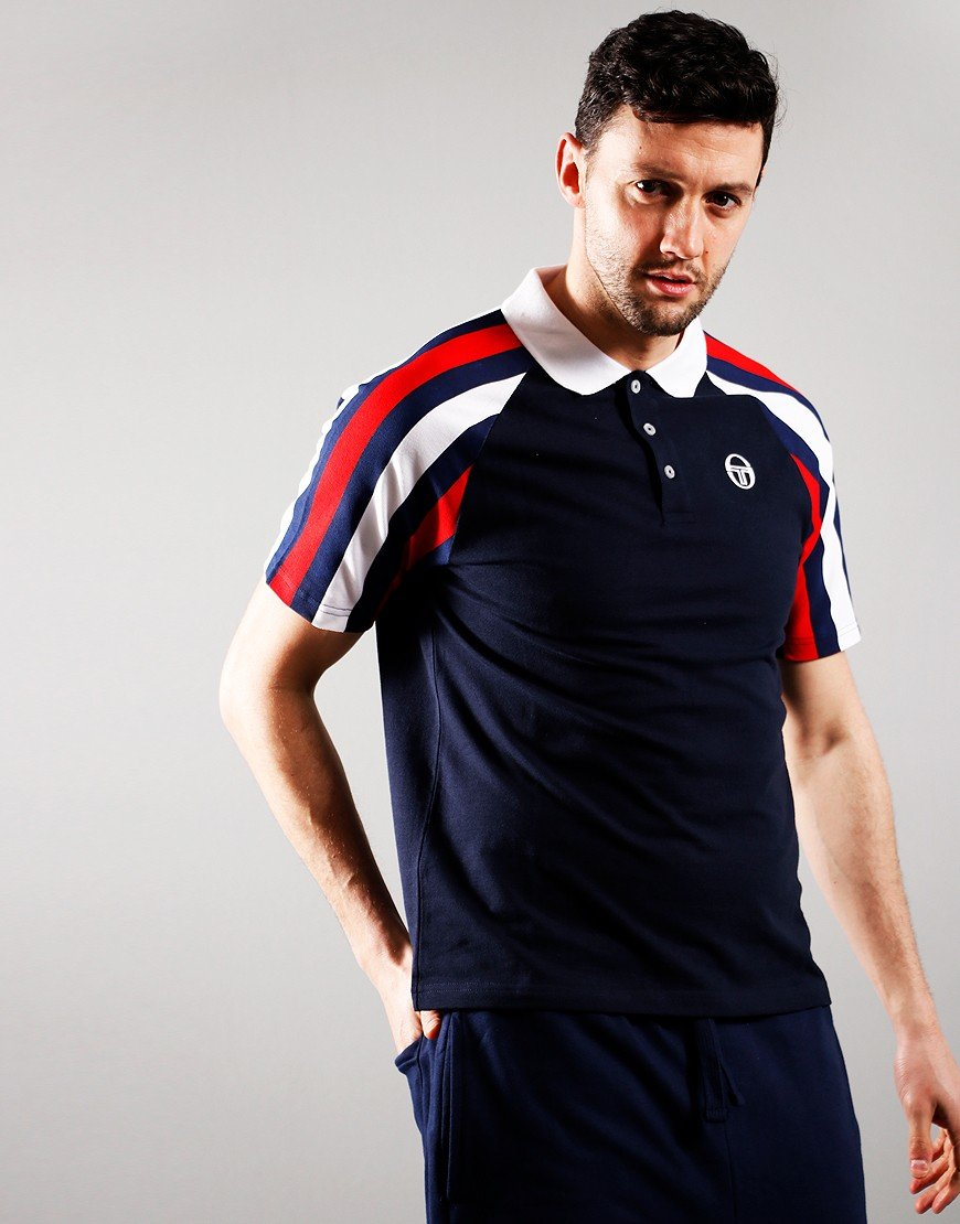 Sergio Tacchini Blow Polo Shirt Night Sky