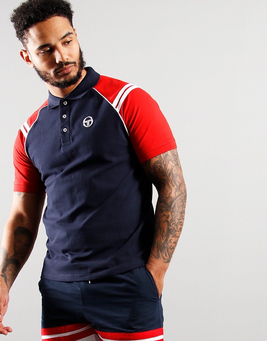 Sergio Tacchini Cortona Polo Shirt Night Sky
