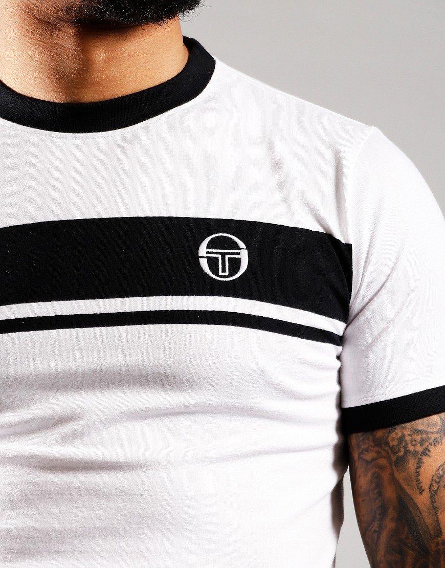 Sergio Tacchini Young Line Polo Shirt White/Black