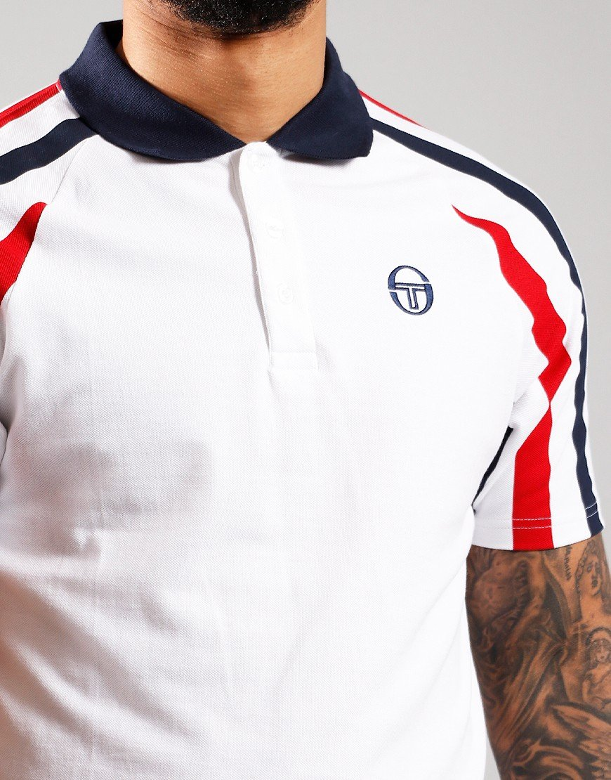 Sergio Tacchini Blow Polo Shirt  White
