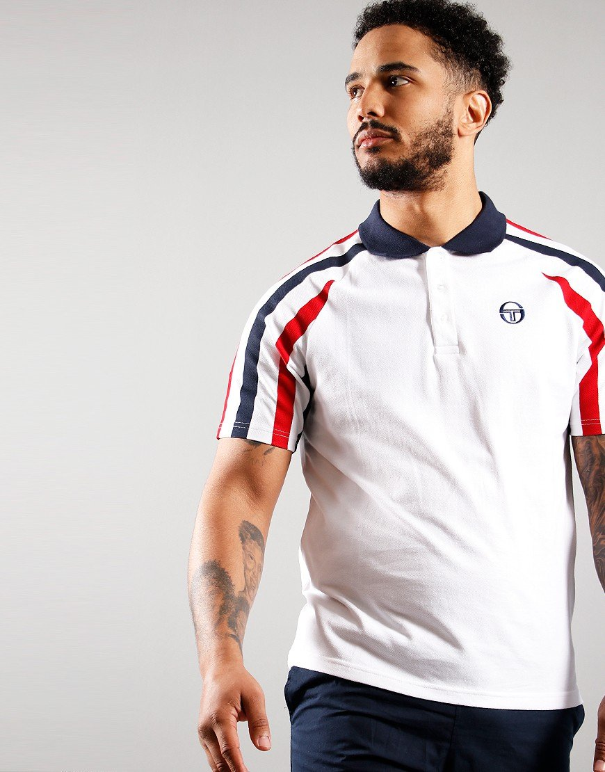 Sergio Tacchini Blow Polo Shirt  White