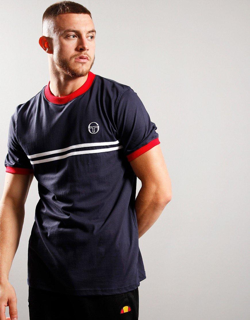 Sergio Taccini Supermac 3 T-shirt Navy/Red/White