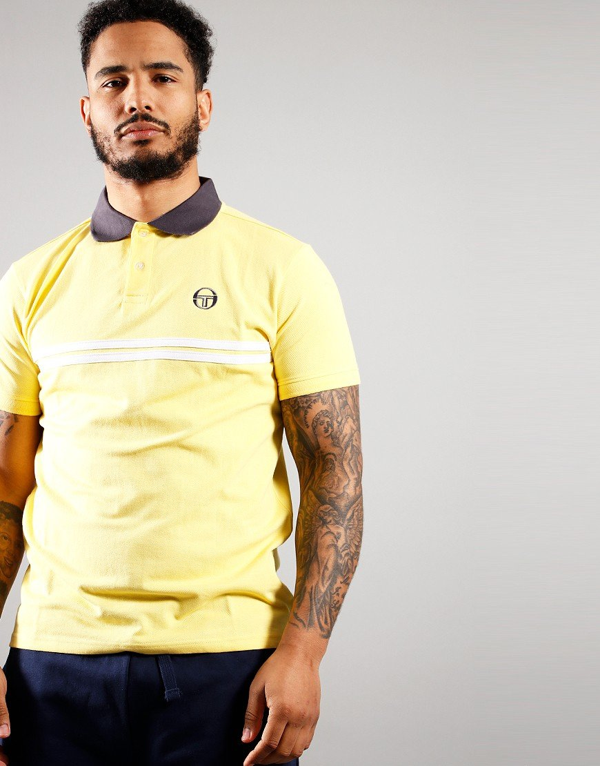Sergio Tacchini Supermac Polo Shirt Goldfinch