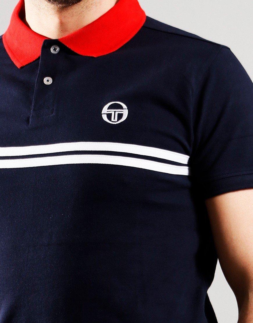 Sergio Tacchini Supermac Polo Shirt Night Sky