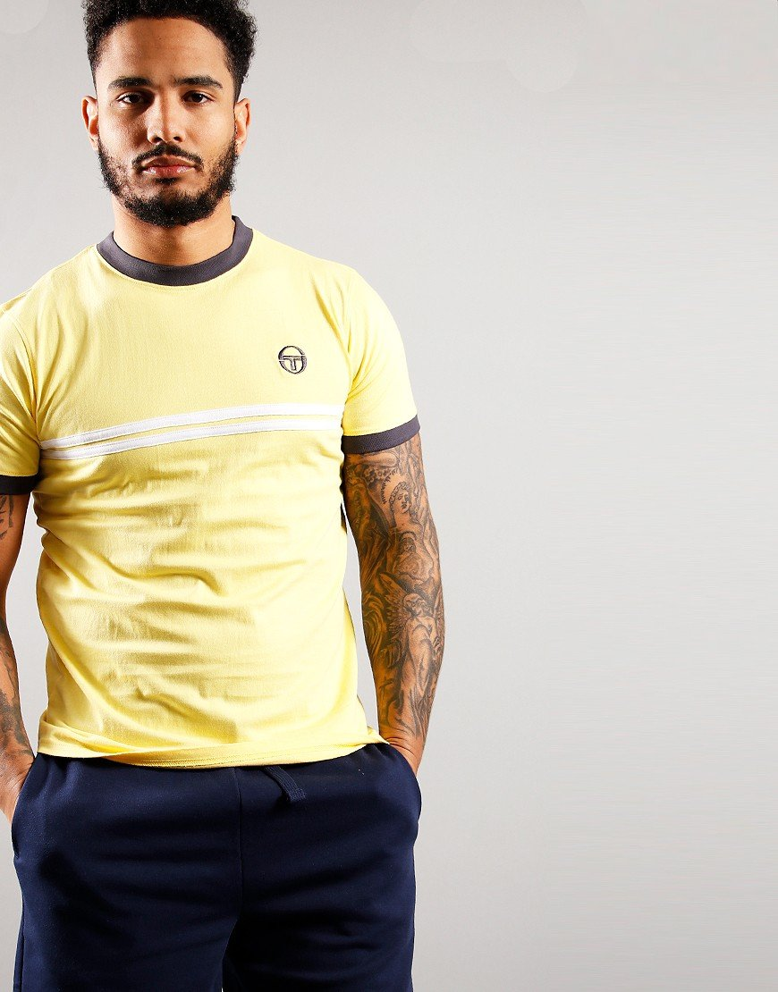 Sergio Tacchini Supermac T-Shirt Goldfinch
