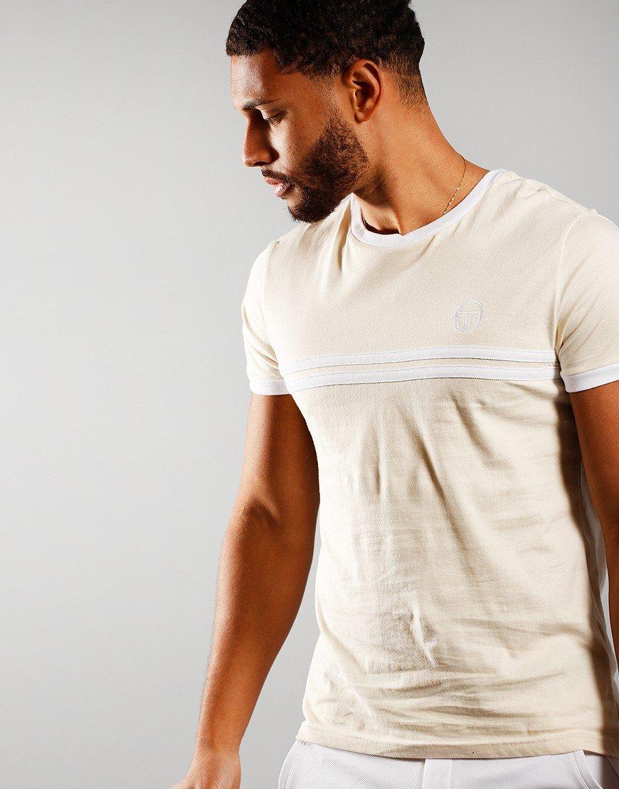 Sergio Tacchini Supermac 3 T-Shirt Birch/White