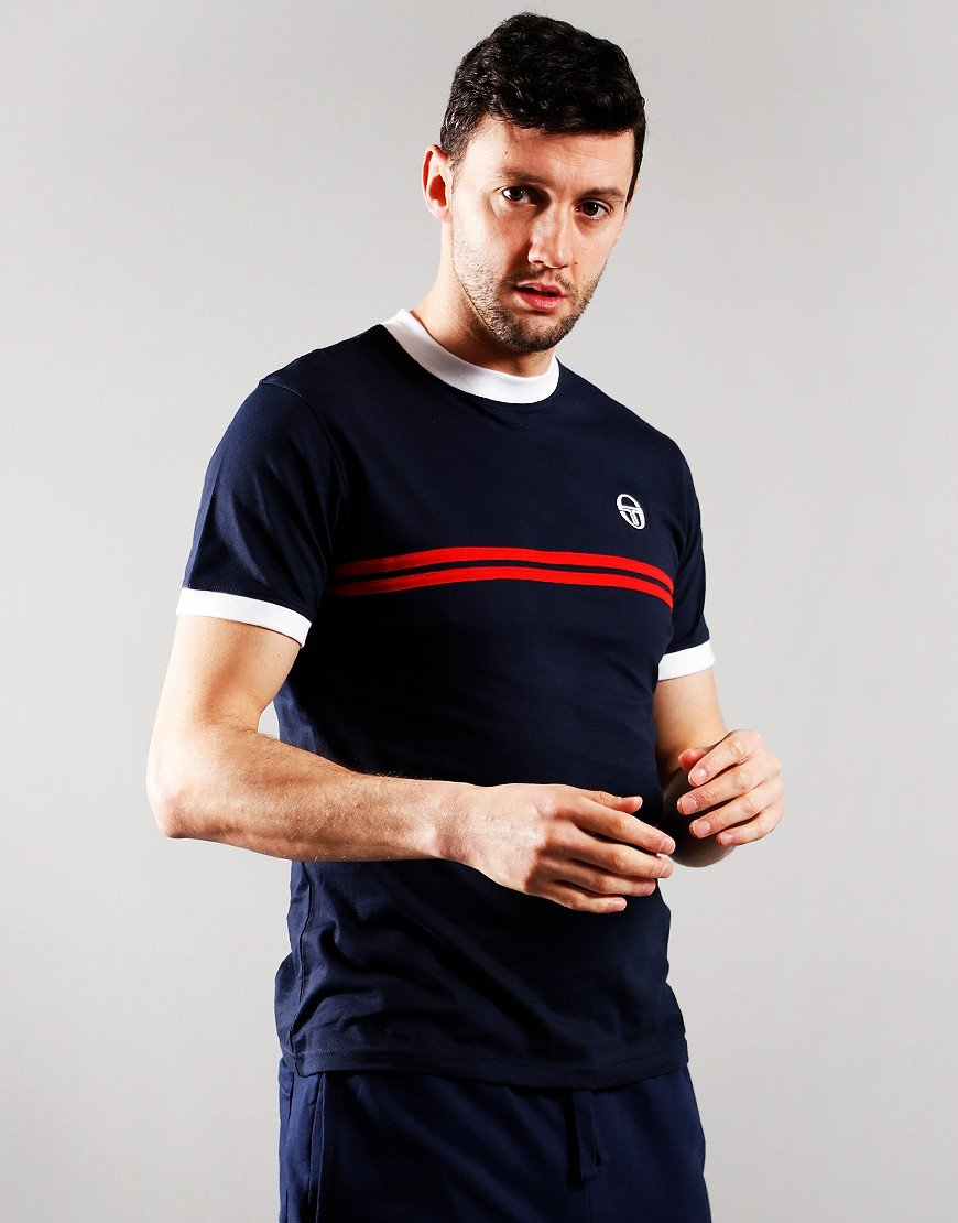 Sergio Tacchini Supermac T-Shirt Night Sky