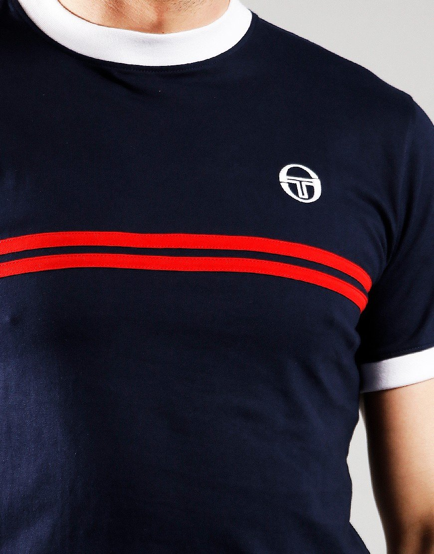 Sergio Tacchini Supermac T-Shirt Night Sky