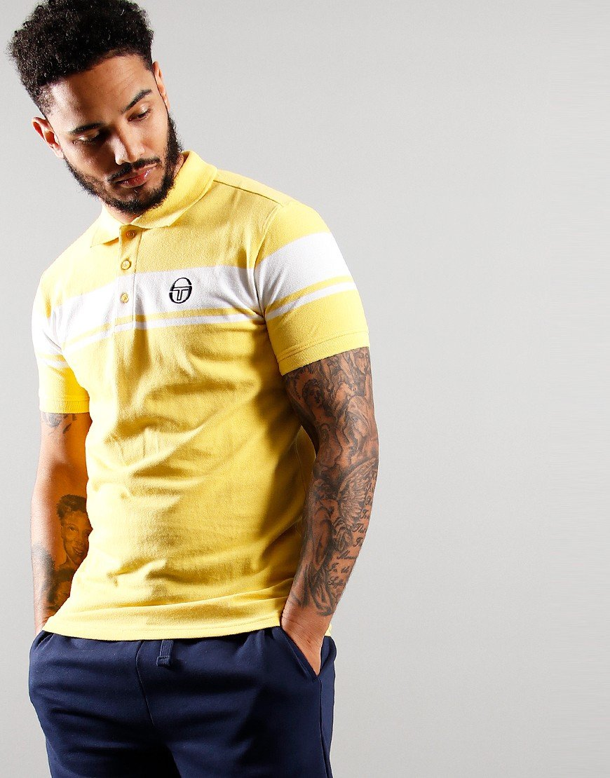 Sergio Tacchini Young Line Polo Shirt Goldfinch