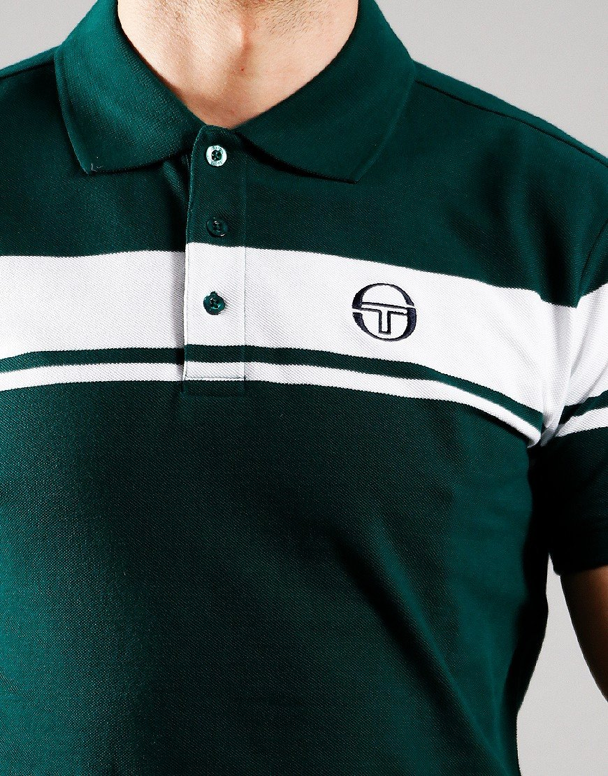 Sergio Tacchini Young Line Polo Shirt Botanical