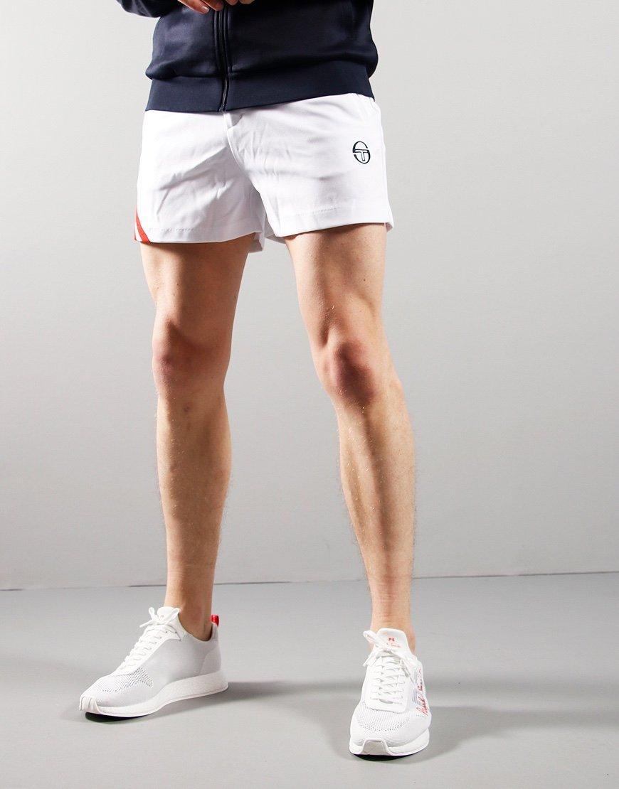 Sergio Tacchini Time Tennis Shorts White