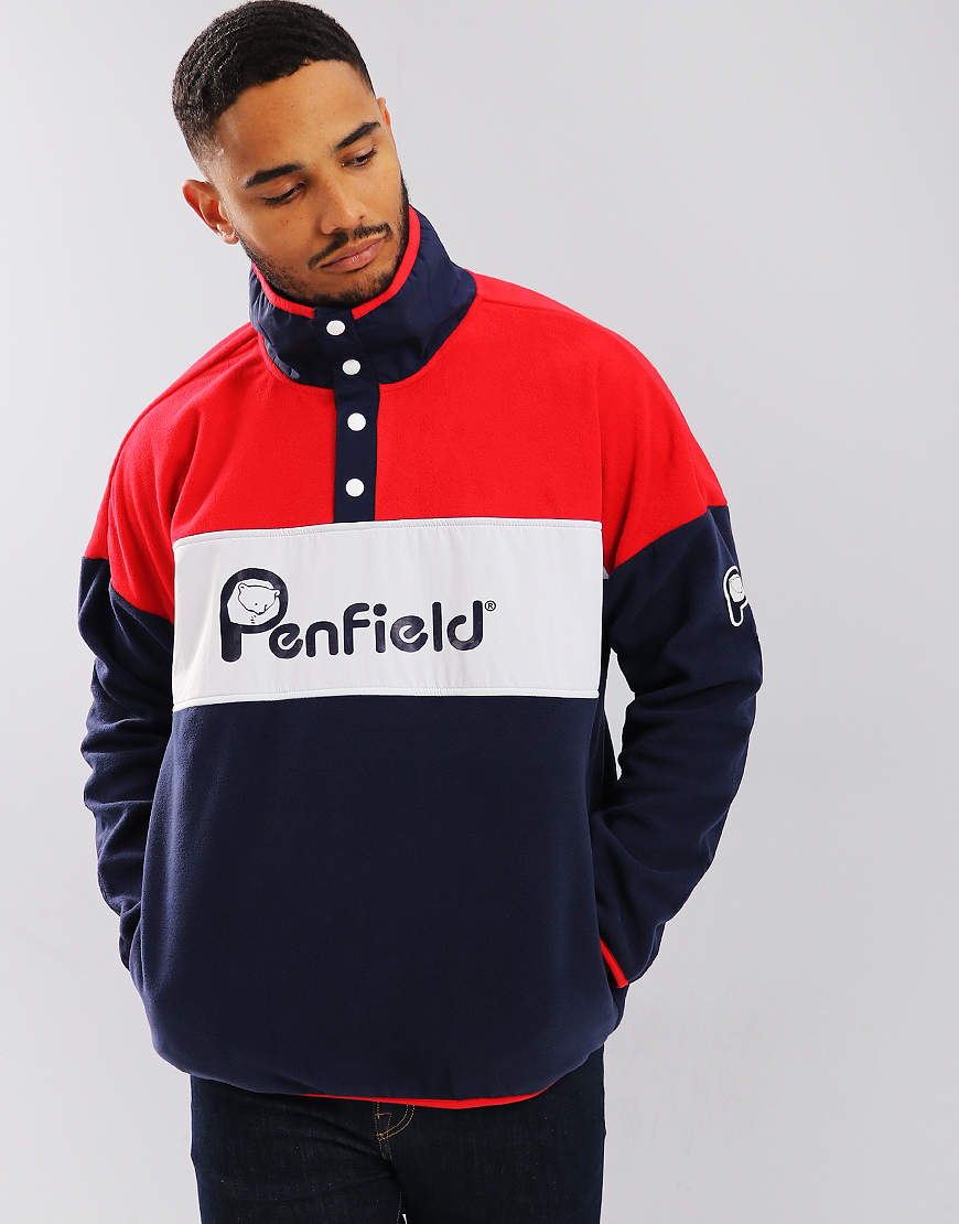 Penfield Sharma Fleece Mars Red