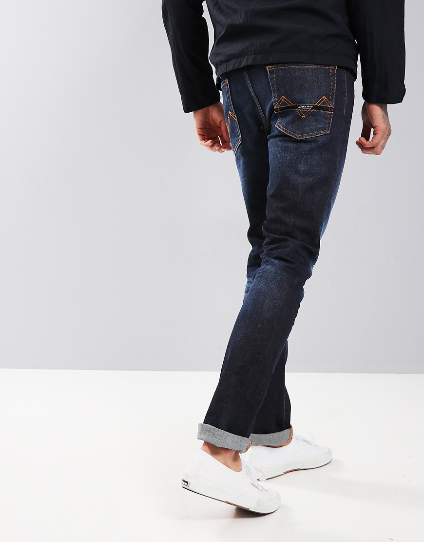 Marshall Artist Slim Fit Tapered Jean Vintage Wash