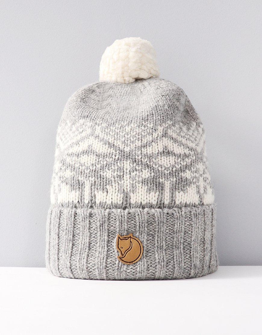 Fjällräven Snow Ball Bobble Hat Fog